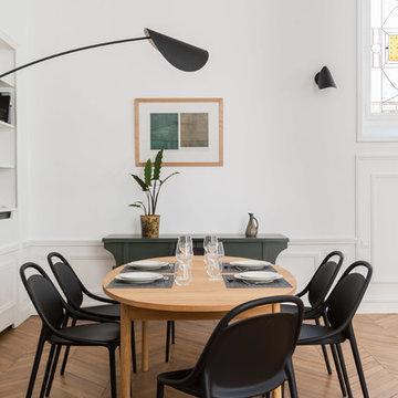 Aménagement d'une appartement de 180m carré avenue Victor Hugo Paris 16