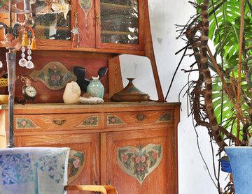 Aménagement et décoration pour une maison d'artiste