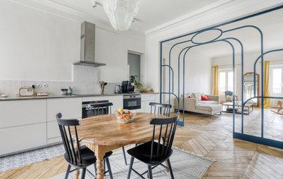 Visite Privée : Mélange des styles dans un appartement parisien