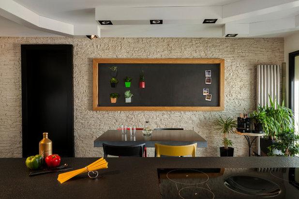 Contemporary Kitchen by Agence Glenn Medioni