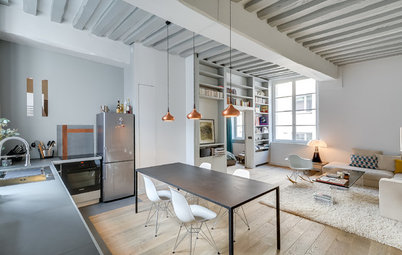 Houzz Tour: A Cool and Contemporary Parisian Flat