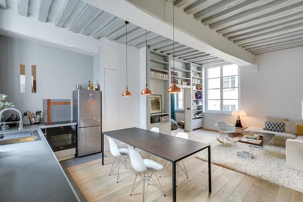 Scandinavian Dining Room by tatiana nicol