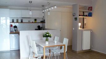 Appartement 80m² - création d'une 3ème chambre, Sainte Foy-les-Lyon 69