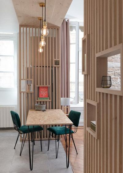 Contemporain Salle à Manger by Camille BASSE, Architecte d'intérieur