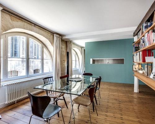 salle à manger industrielle : Photos et idées déco de salles à manger