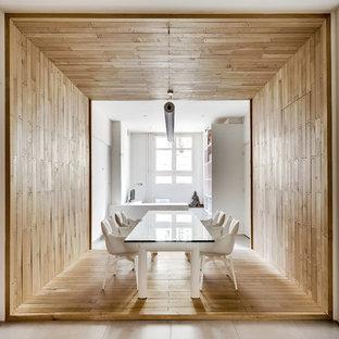 Salle à manger avec un mur beige Paris : Photos et idées ...