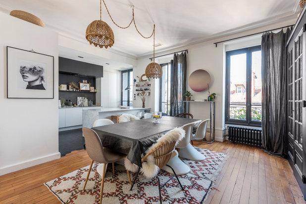 Éclectique Salle à Manger by Alexandre Montagne - Photographe immobilier