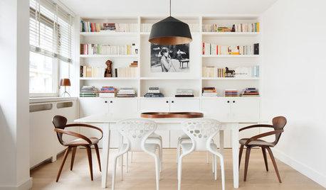 Comment harmoniser des chaises dépareillées dans une salle à manger ?