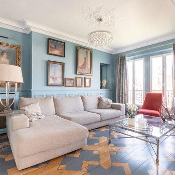 Appartement familial Auteuil
