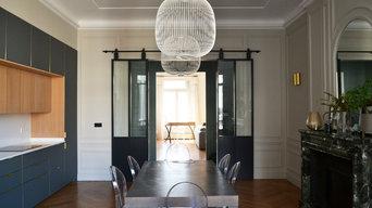 Appartement familial Paris 17 - 200 m²