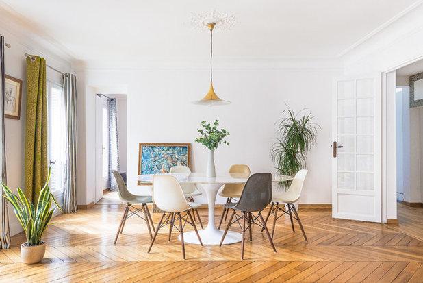 visite priv e un appartement haussmannien plein de peps. Black Bedroom Furniture Sets. Home Design Ideas