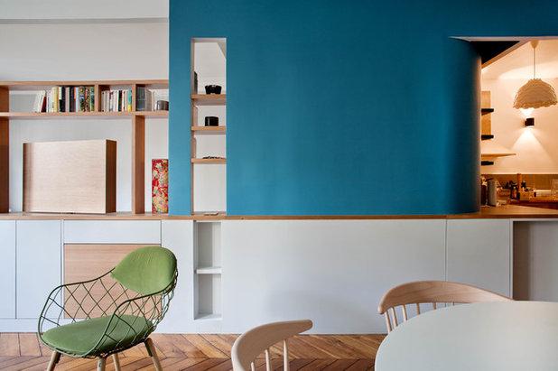 Contemporain Salle à Manger by Olivier Chabaud Architecte