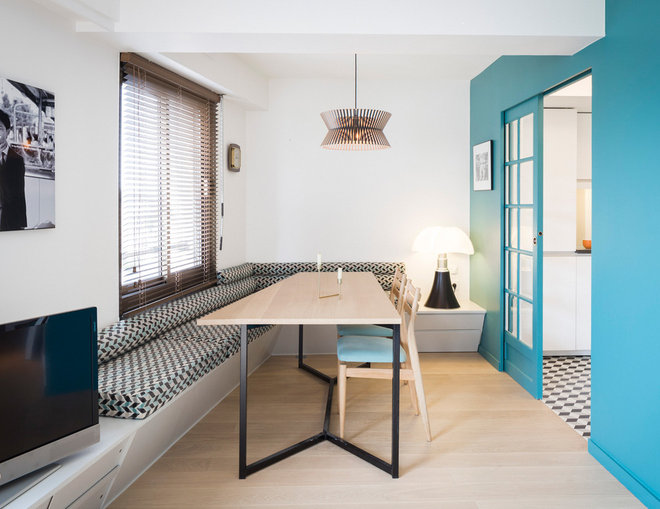 Contemporary Dining Room by sophie loubaton / photographe