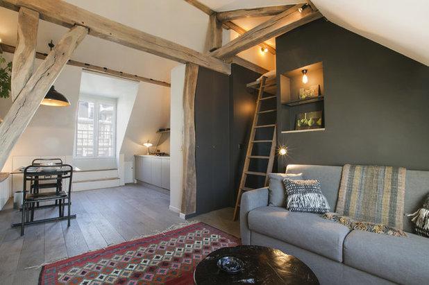 visite priv233e esprit chalet dans un studio parisien de 30 m178