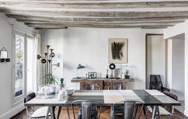 Houzzbesuch: Ein Pariser Paar Lebt Klein Aber Fein Auf 47 Qm, Esszimmer