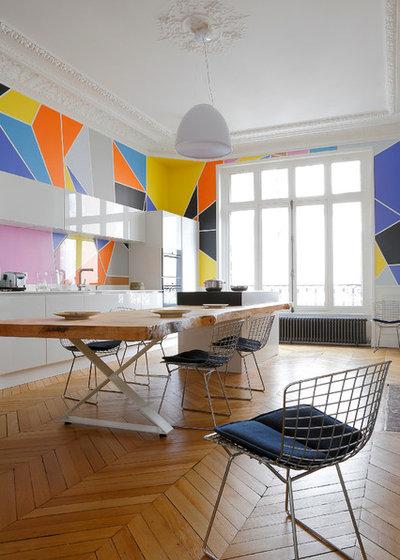 Contemporain Salle à Manger by Studio Razavi
