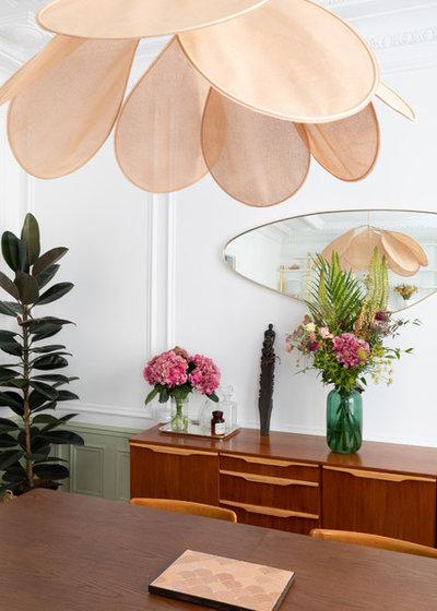 Contemporain Salle à Manger by Charlotte Fequet