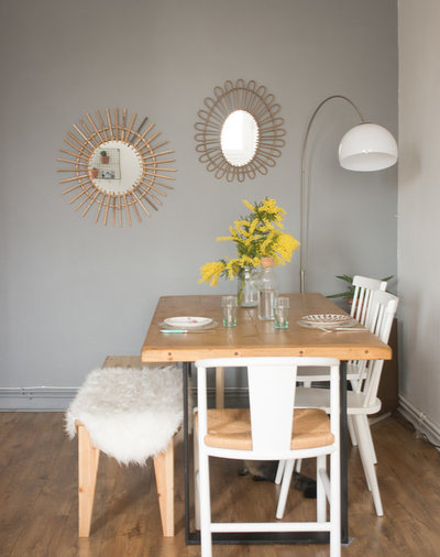 Eclectic Dining Room by Jours & Nuits