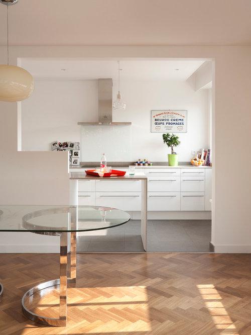 Images de d coration et id es d co de maisons cuisine semi for Cuisine semi ouverte 8m2