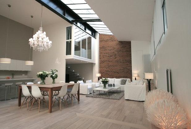 Des briques dans la maison pour ou contre - Les plus beaux interieurs ...