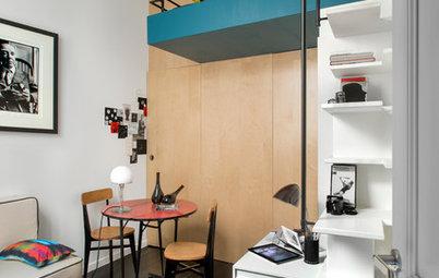 Visite Privée : Une chambre d'étudiant à géométrie variable