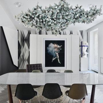 Chez Marc Etienne,  Architecte : Frédéric Chane  Mag : IDEAT