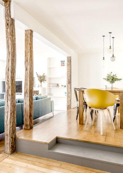 avant apr s l 39 tonnante transformation d 39 un trois pi ces. Black Bedroom Furniture Sets. Home Design Ideas