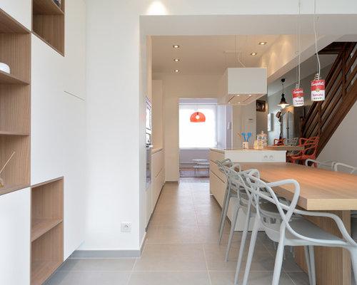 amnagement duune salle manger ouverte sur la cuisine de taille moyenne avec with amenagement cuisine ouverte avec salle a manger - Amenagement Cuisine Ouverte Avec Salle A Manger