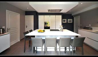 Cuisines dans maison d'architectes