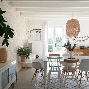 Décoration et aménagement d'une maison en Vendée