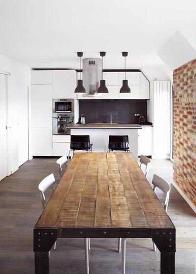 halte la monotonie 25 id es d co pour r veiller une cuisine blanche. Black Bedroom Furniture Sets. Home Design Ideas