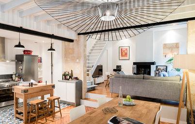 visite priv e une maison de ville familiale boulogne billancourt. Black Bedroom Furniture Sets. Home Design Ideas