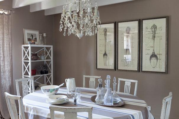 Visite priv e tout le charme d 39 une maison de campagne for Salle a manger flamant