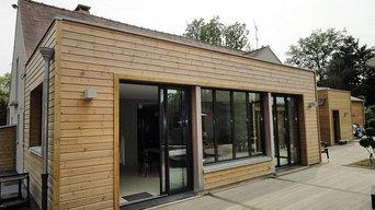 Extension de maison bois à Melun en Seine et Marne (77)