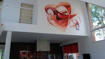 fresque contemporaine