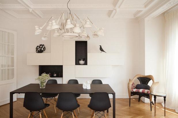 Idea décor: esagerate con lampadari xl per la zona giorno