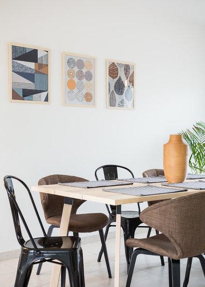 Contemporáneo Comedor by Francky Boisseau - Home staging depuis 2012