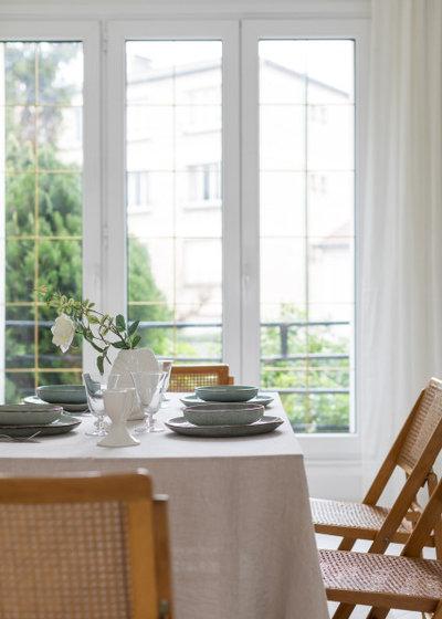 Classique Chic Salle à Manger by Frédérique Misdariis - Home Staging Paris