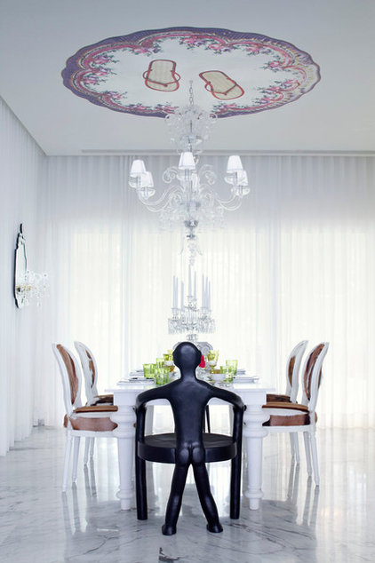 Contemporary Dining Room by Francis Amiand Photographe