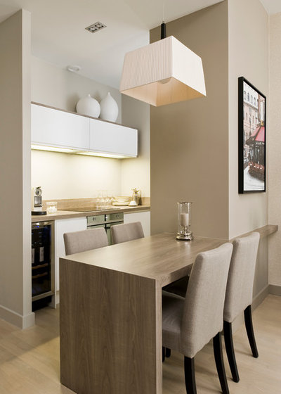 Contemporary Dining Room by Julien CLAPOT