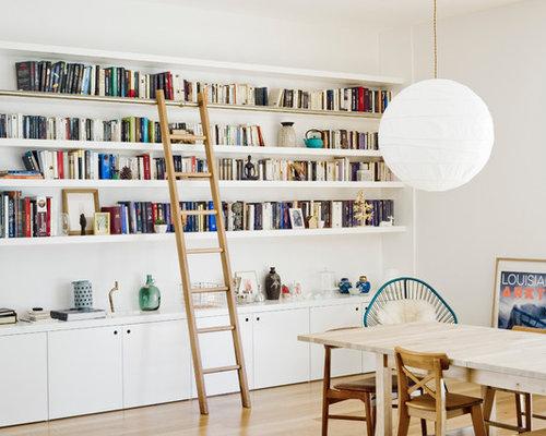Images de d coration et id es d co de maisons biblioth que encastr e - Bibliotheque decoratie de maison ...
