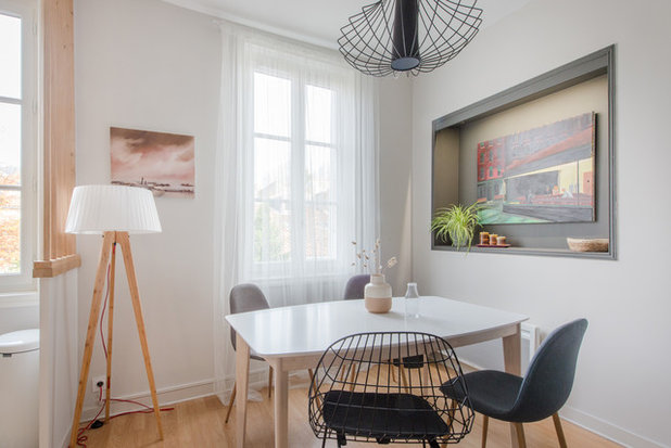 Scandinavian Dining Room by Jours & Nuits