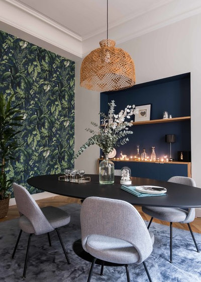 Fusion Dining Room by Agence Véronique Cotrel