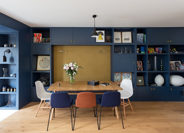 Contemporary Dining Room by GCG Architectes