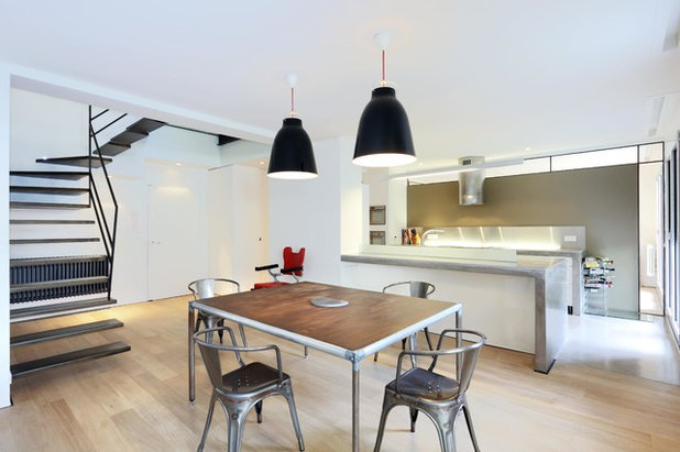 Contemporain Salle à Manger by a-sh