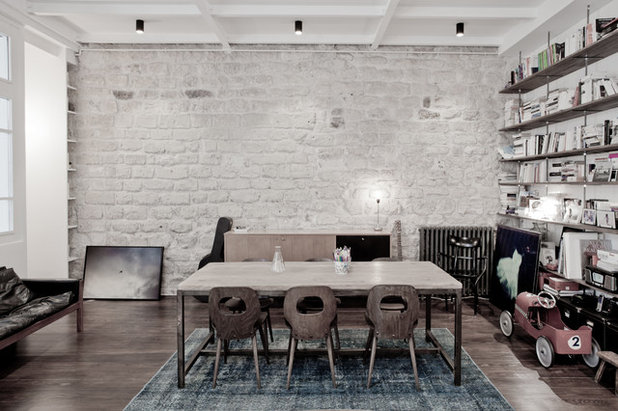 A caccia di idee... 20 pareti di mattoni e pietre a vista