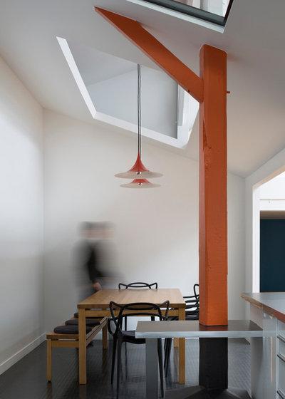 Contemporain Salle à Manger by Agnès & Agnès architecture