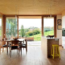 Maison contemporaine béton/bois - Modern - Häuser - Lyon ...