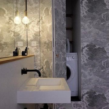 Maison D-41 - Salle de bain - Buanderie