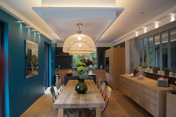 Contemporary Dining Room by Charlotte Cittadini